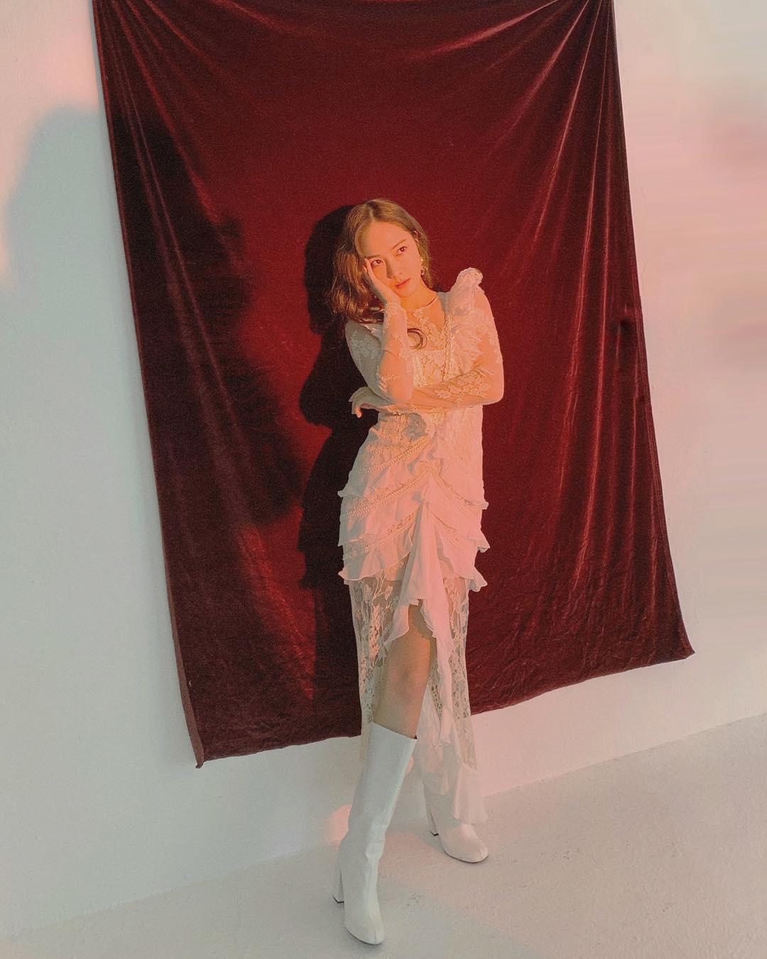 """[分享]190223 在镜头前的致命魅力 Jessica郑秀妍""""冷傲美显露"""""""