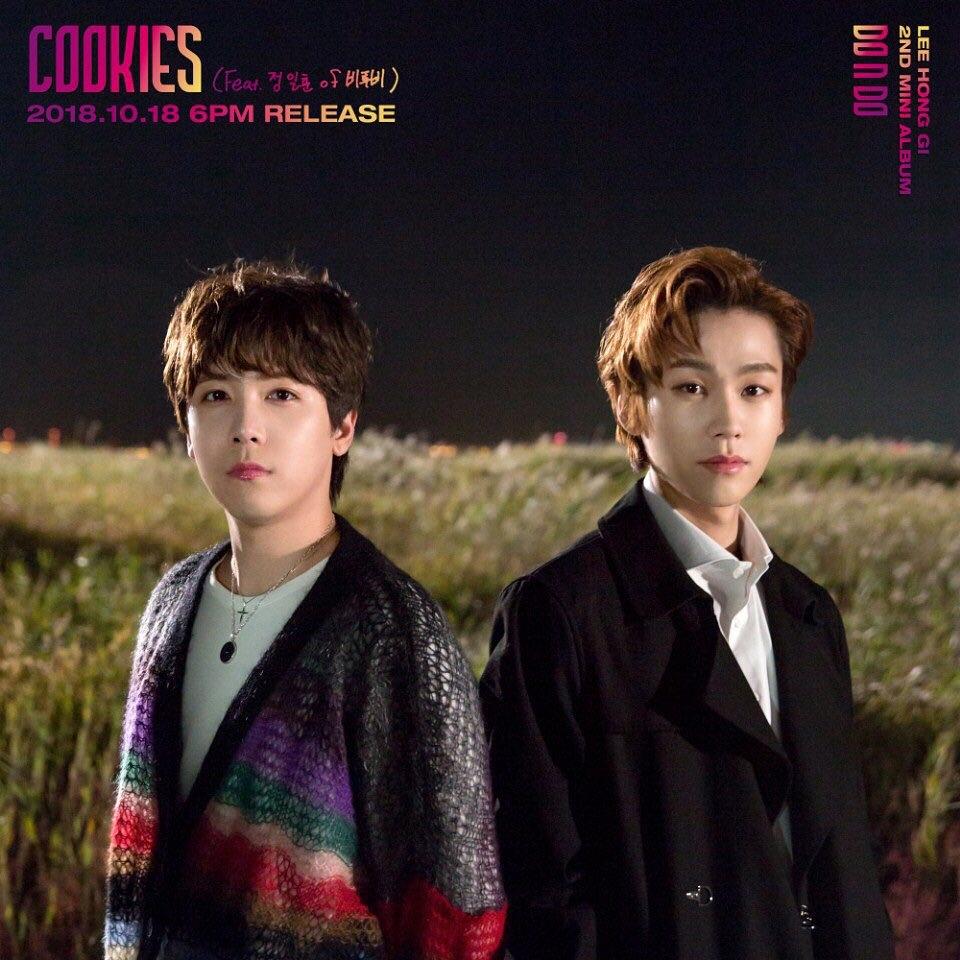 [分享]181018 郑镒勋参与Feat李洪基新曲《Cookies》今日音源&MV公开!