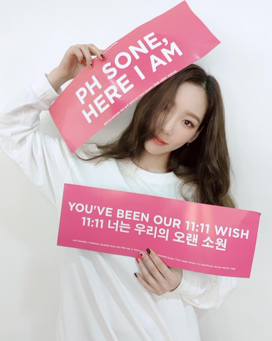 """[分享]181215 """"身心遭受冲击和伤痛"""" 泰妍演唱会遭遇舞台事故后对菲律宾粉丝表达抱歉和感谢"""