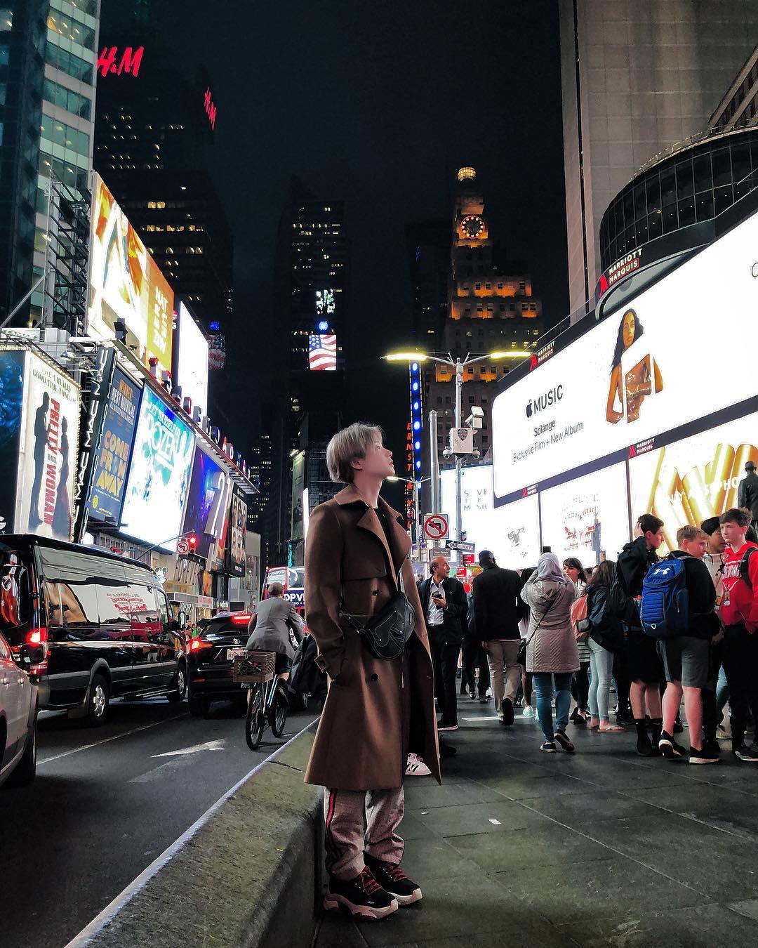 [分享]190319 开心快乐的纽约之行之老大老五INS篇!就算回国了旅行分享也不能停!