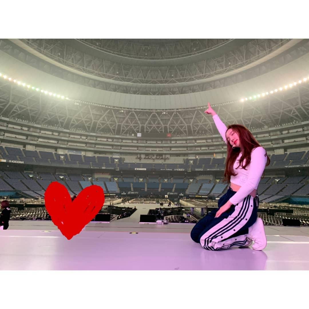 [分享]190320 Dreamday!TWICE娜琏,日本公演现场舞台公开