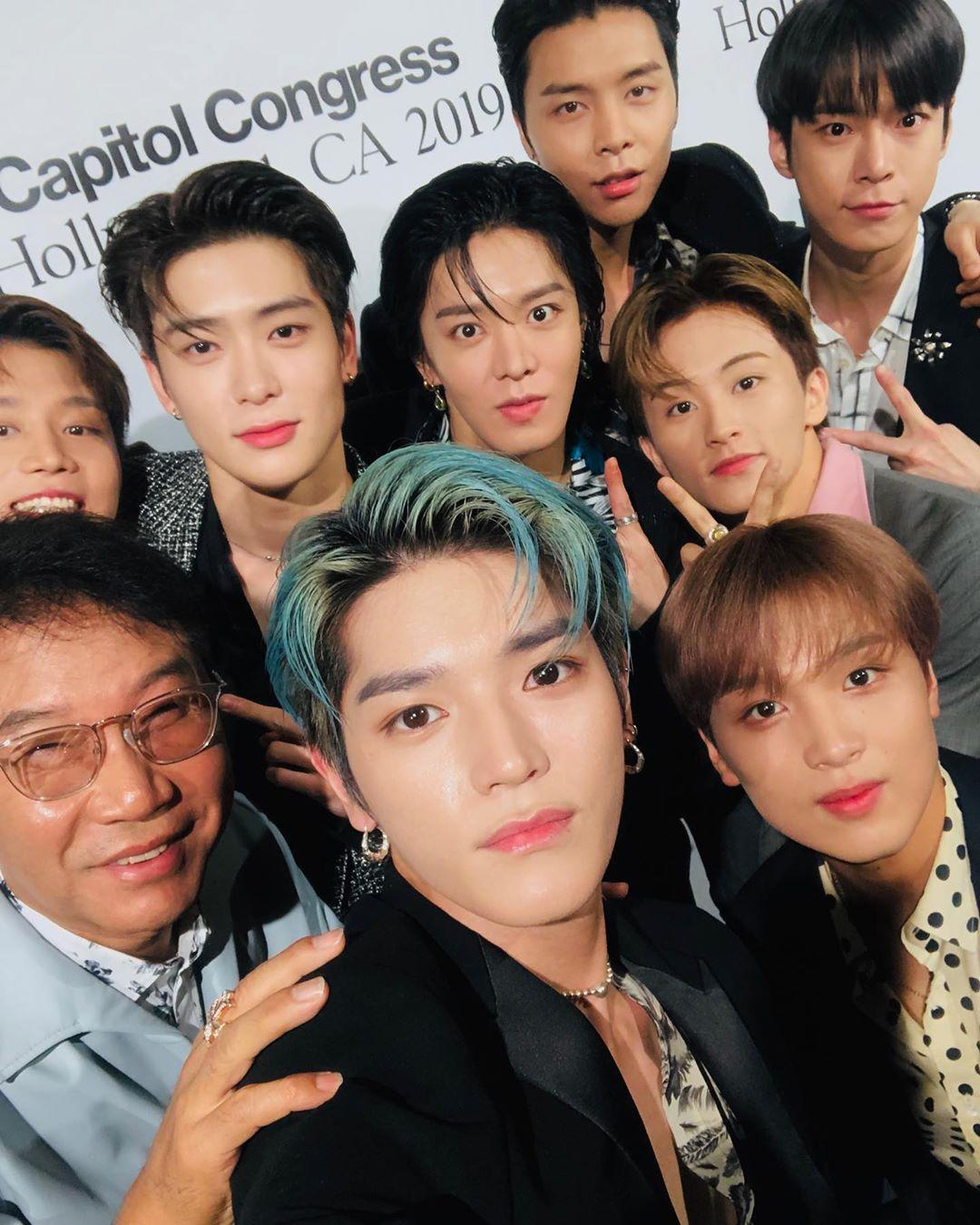 """[NCT][新闻]190808 NCT 127,出席""""Capitol Congress 2019""""的""""最热门的K-POP组合"""""""