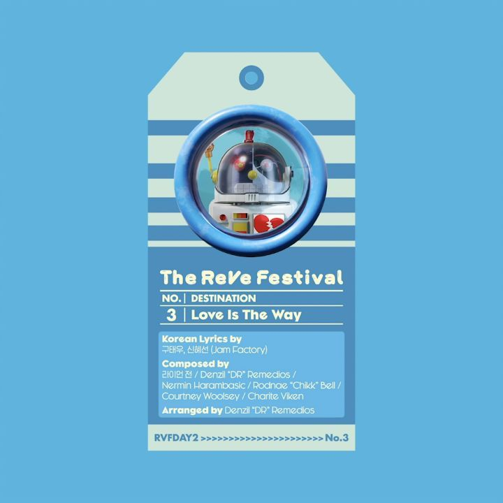 [Red Velvet][新闻]190814 《The ReVe Festival Day 2》收录曲《Love Is The Way》试听音源公开!