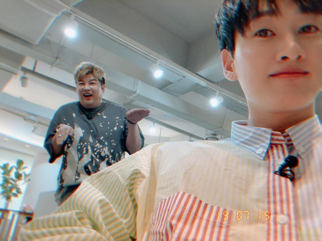 [Super Junior][分享]190815 暖暖SUJU 银赫为生病而中断活动的神童加油助威