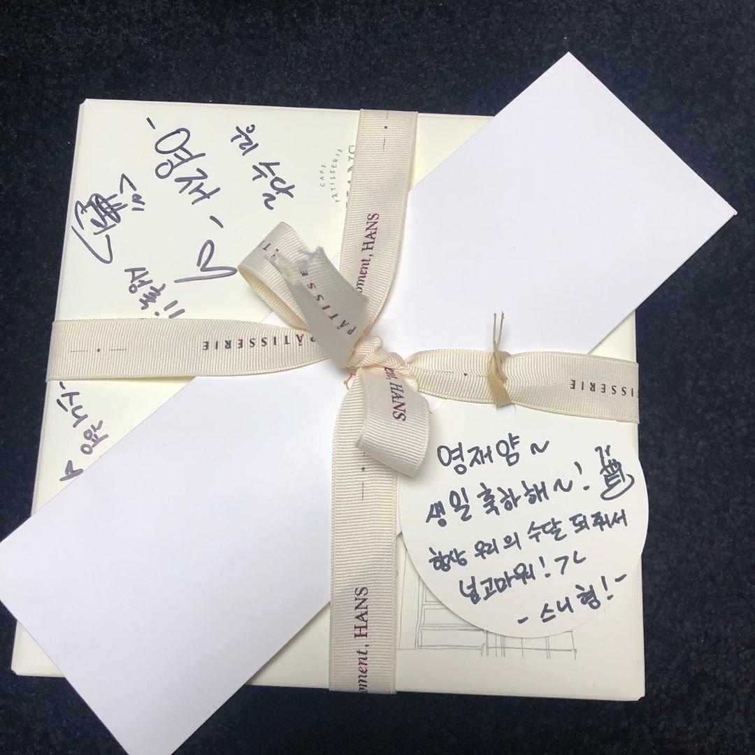 [分享]190918 崔荣宰晒出王嘉尔赠送的生日礼物 甜度超标的两位小朋友