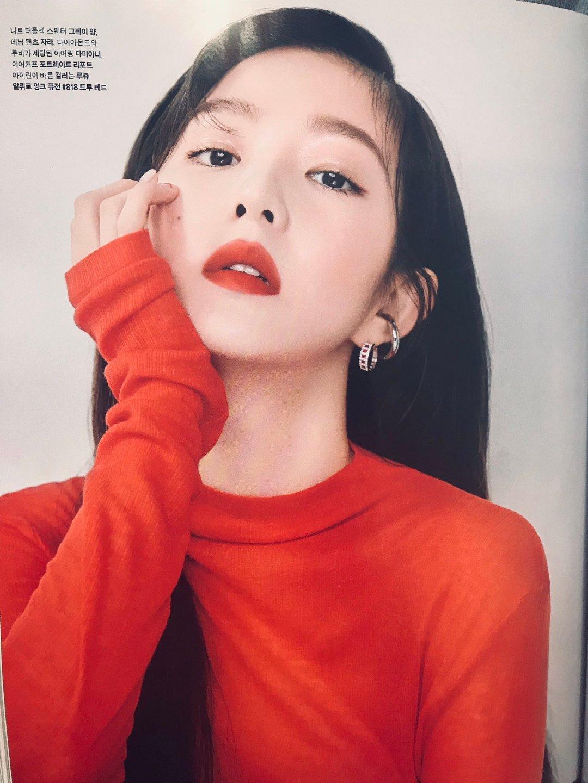 [Red Velvet][新闻]190821 Irene,《Marie Claire》杂志九月号画报公开...港风美十足!