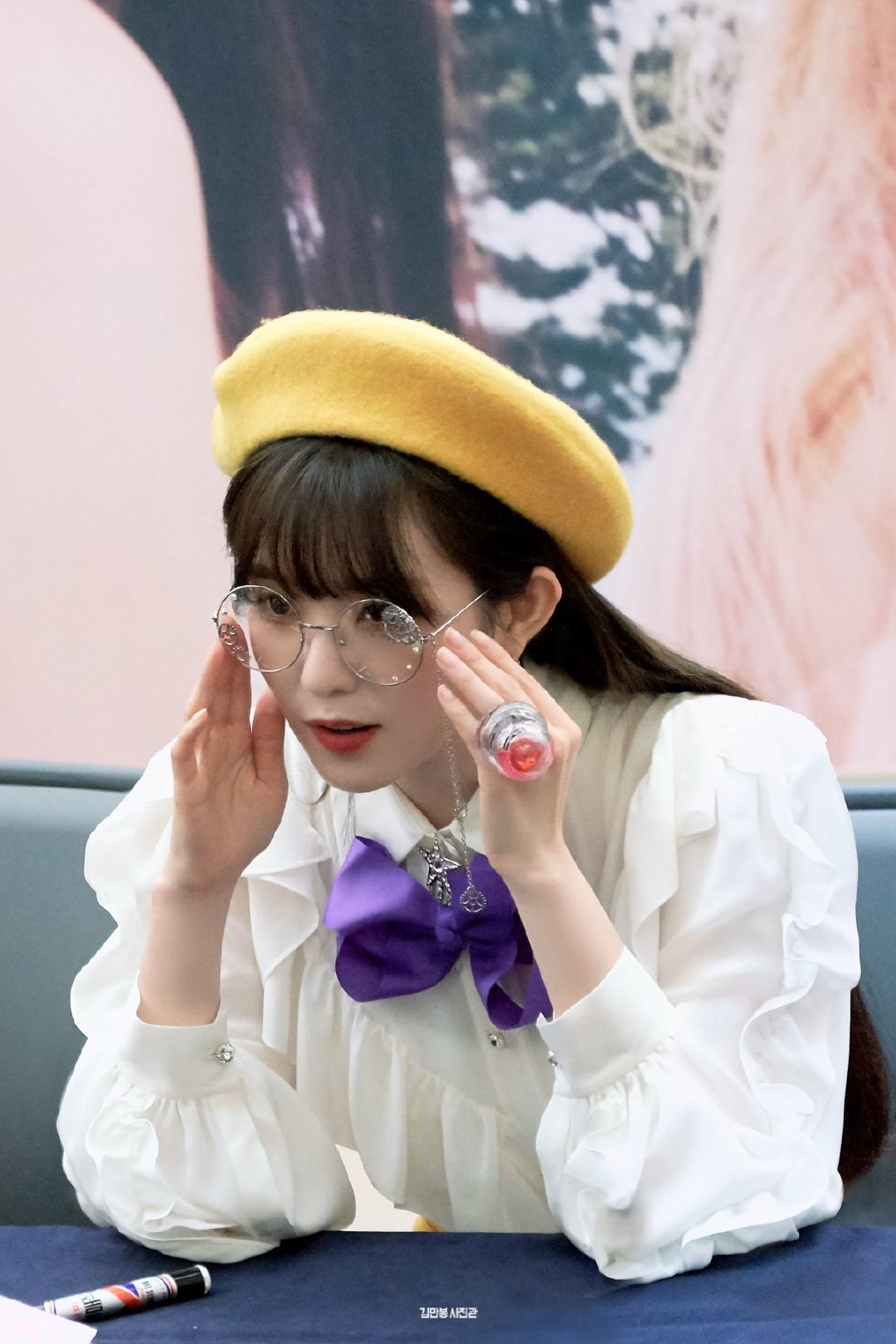 [Red Velvet][分享]190904 戴眼镜的裴老师我可以!想成为您的学生~