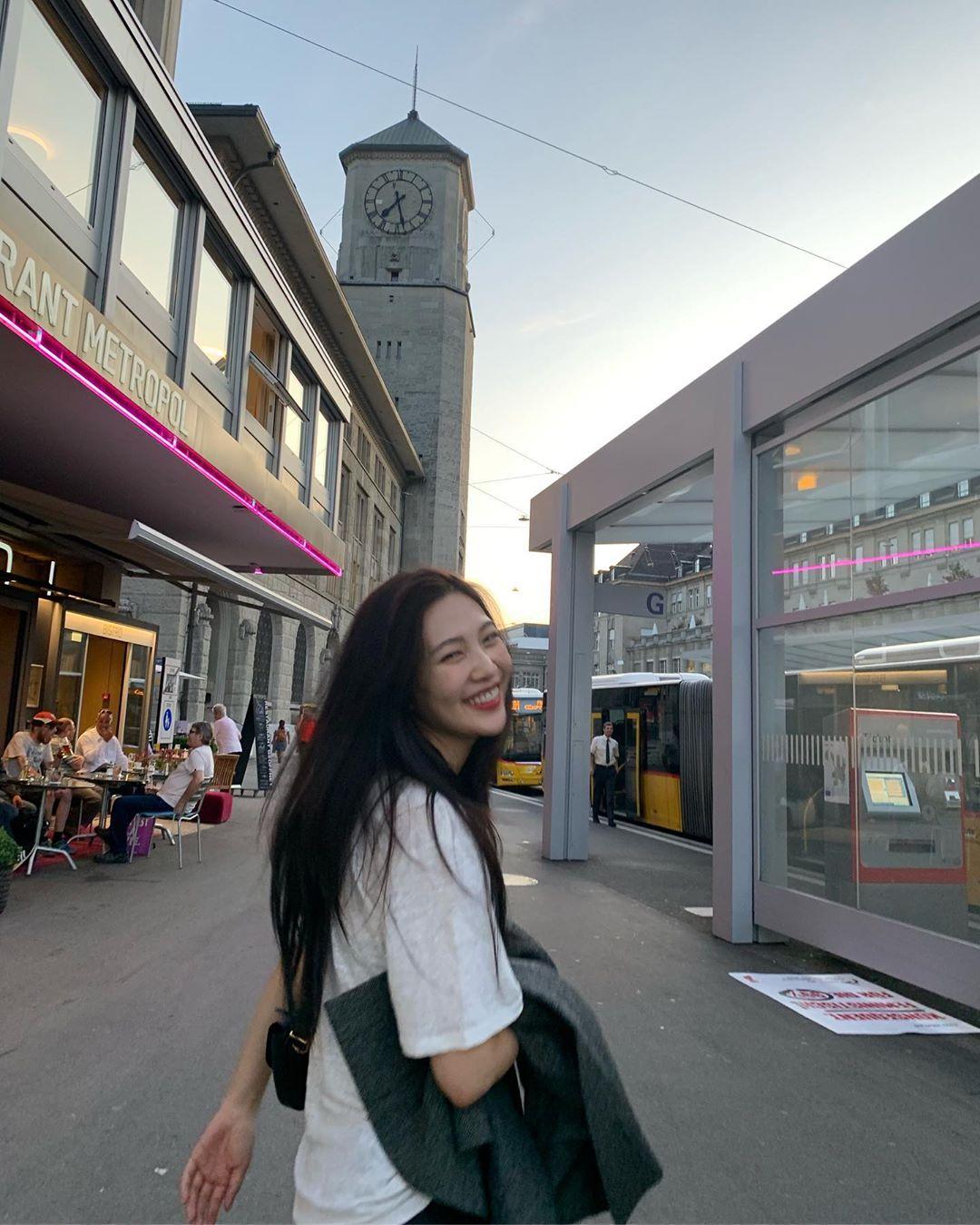 [Red Velvet][分享]190917 RedVelvet Joy,在瑞士也散发的女友般清新魅力