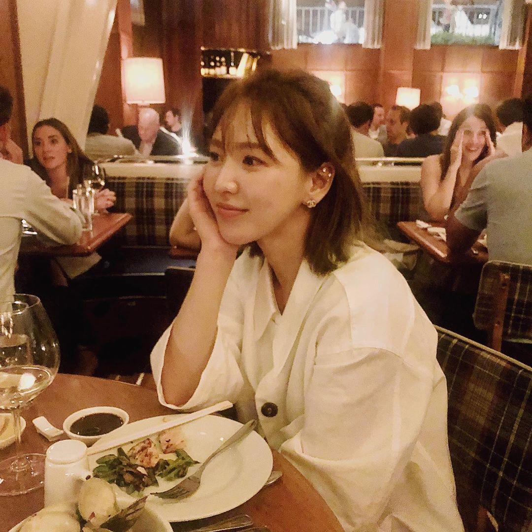 [Red Velvet][新闻]191206 RedVelvet Wendy今日开通个人Ins!