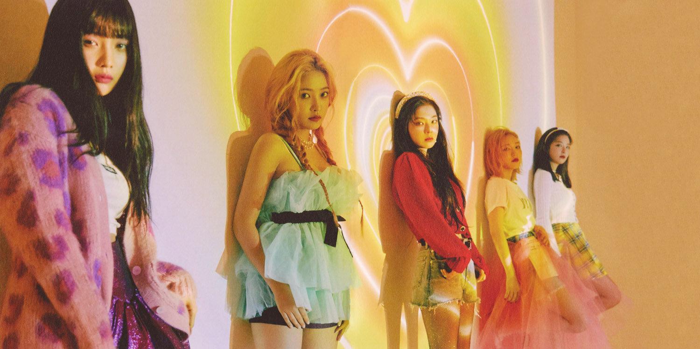 [Red Velvet][分享]191229 RV新专高清内页扫图来袭 来感受plmm的美颜吧!