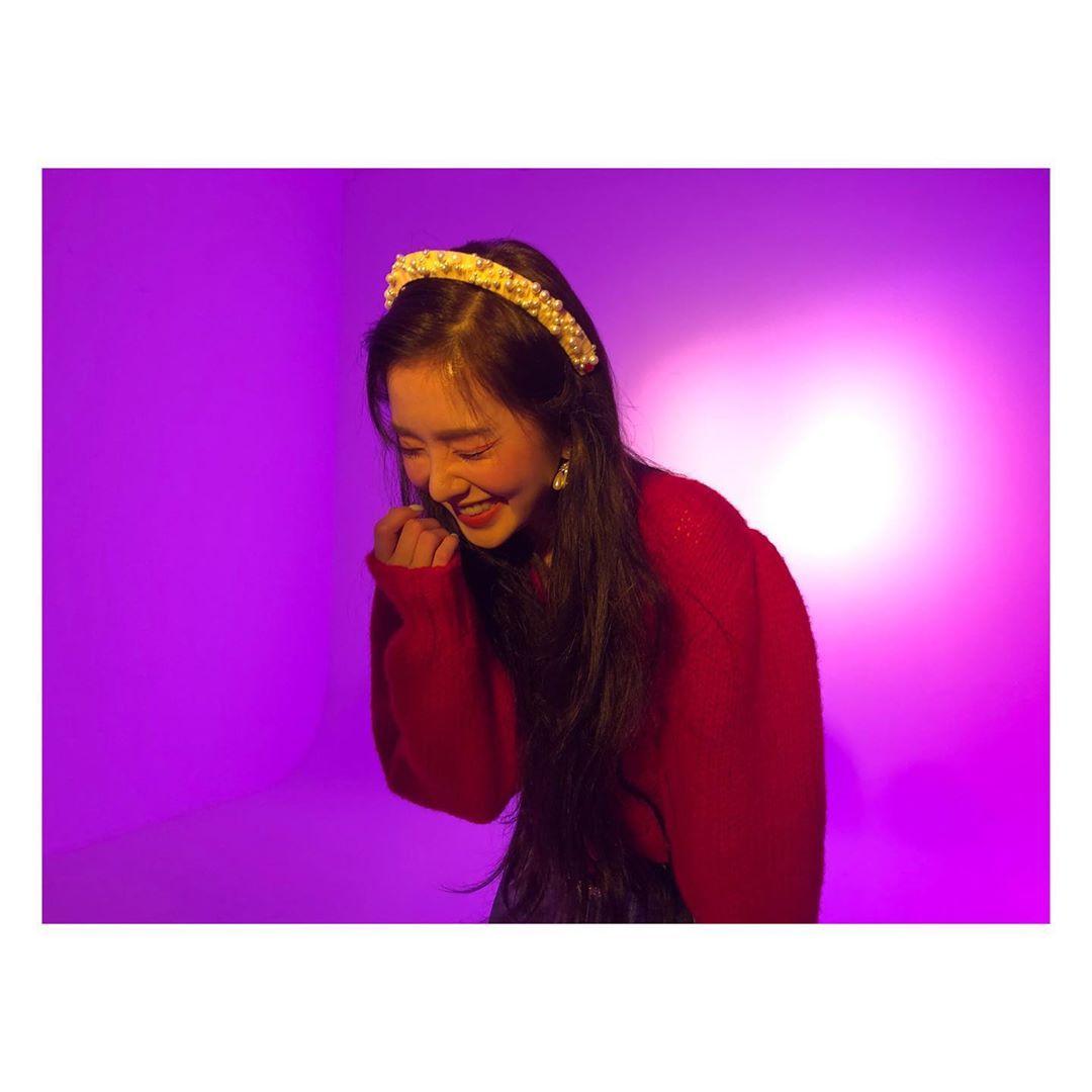 [分享]200118 这是什么神仙美貌!Irene上传MV花絮照